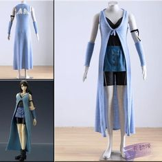 Final Fantasy VIII Rinoa Heartilly Dress Cosplay Costume: Clothing