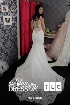 Exquisitely feminine. Would you say Yes to this dress?  Say Yes To the Dress UK, Fridays at 9pm on TLC! #SYTTDUK