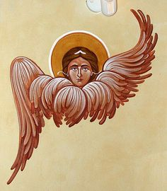 Sacred Orthodox Icons in Byzantine Style using Traditional Techniques of Egg Tempera. Icon Painting Courses and Workshops. Religious Icons, Religious Art, Angel Outline, Holly Spirit, Famous Artists Paintings, Painting Courses, Angel Pictures, Orthodox Icons, Sacred Art