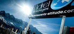 Maître Restaurateur en Altitude Chamonix Mont Blanc face sud face au Mont Blanc Restauration savoyarde www.flegere-restaurant.com