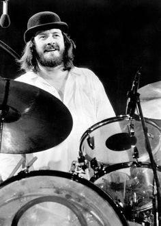 Mr. John Bonham, drummer  with Led Zeppelin. 31/9/'48 - 25/9/80