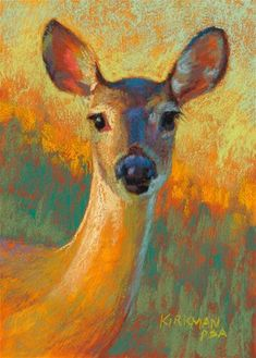 "Daily Paintworks - ""Dear"" - Original Fine Art for Sale - © Rita Kirkman"