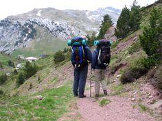pyrenees mountains Camino de Santiago    Walking from the Col du Somport - Camino de Santiago de Compostela ...