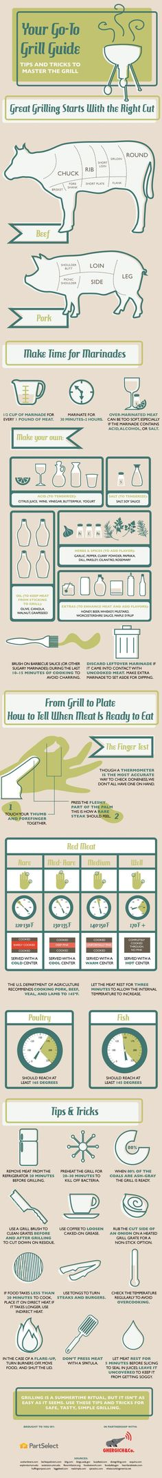 Your Go-To Grill Guide: Tips and Tricks to Master the Grill #Grilling