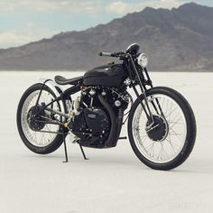 1952 Vincent Black Lighting Custom