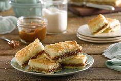 Todos los secretos de nuestra receta de Tarta de Coco y Dulce de Leche, descubrilos acá.