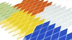 GM0122 - Diamond Glass Mosaic, 5 Colors - SALE tiledaily.com