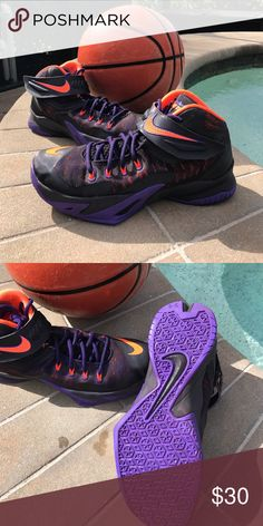 Men's Nike Sneakers Basketball sneakers ... great condition Nike Shoes Sneakers