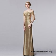 Abendkleid Reinolde in Gold