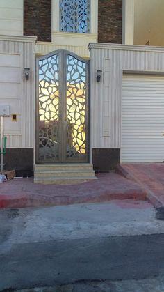 #saudiarabia #riyadh #doors #gates #design #cnc #lifestyle #modern #cadd #beautiful #metaldoor #lasercut #ابواب #idesigns Steel Image, Iron Gate Design, Metal Gates, Modern Front Door, Driveway Gate, Interior Sketch, Happy Eid, Modern Staircase, Entrance Doors