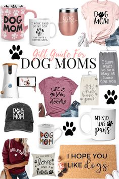 Dog Moms Guide to Show Off Your Love - DIY Darlin'You can find Dog lovers and more on our website.Dog Moms Guide to Show Off Your Love - DIY Darlin' Dog Mom Gifts, Dog Lover Gifts, Gift For Lover, Diy Dog Gifts, Puppy Gifts, Lovers Gift, Pet Lovers, Diy Tumblr, Diy Pet