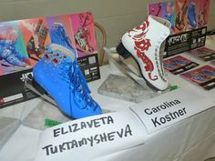 Patins exclusivos, leiloados no Art Skate - ISU World Figure Skating Championships