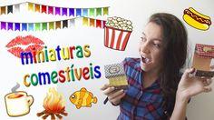 DIY DOCES PARA FESTA JUNINA - GANHE DINHEIRO COM MINIATURAS COMESTÍVEIS