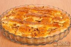 Receita de Torta suculenta de frango em receitas de tortas sgadas, veja essa e outras receitas aqui!