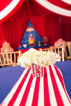 Circus/Carnival Birthday Party Ideas | Photo 1 of 22 | Catch My Party