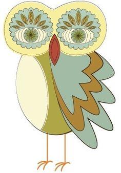 Retro owl from owladay.wordpress.com