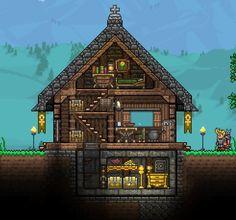 Cool tiny house : Terraria