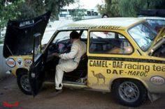 Daf 55 rally 1972