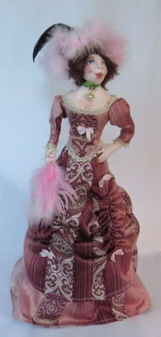 """*NEW* CLOTH ART DOLL PATTERN """"HELLO DOLLY"""" BY SHARON MITCHELL"""