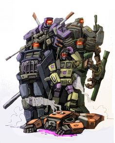 Combaticons by ~Klejpull on deviantART