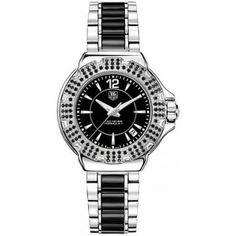Women's Black Dial Ceramic - Tag Heuer Watch