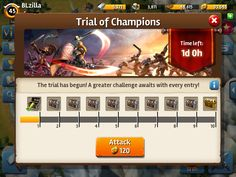 Siegefall | Event | Progress | UI HUD User Interface Game Art GUI iOS Apps Games | Gameloft | www.girlvsgui.com