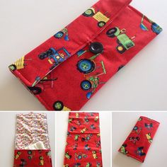 Nappy walletchange mat 2 in 1 combo diaper by FigTreeHillCrafts