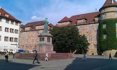 Any good run in Stuttgart should start here, at the old castle!