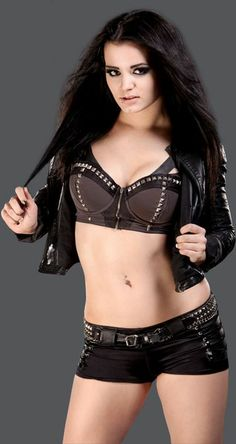 I met Paige in person and she is such a sweetheart. I got a hug from her which was awesome! She is my favorite diva.