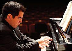 Pianist Julio Elizalde will perform Gershwin's jazzy Rhapsody in Blue with the Britt Orchestra on August 15, 2014. #brittfestivals #classical
