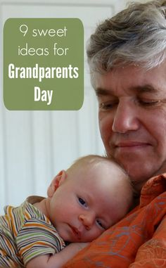 I always forget about grandparents day! Love this list of grandparents day crafts, gifts, and activities.