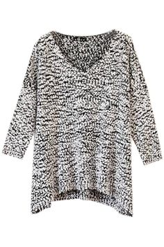 love sweaters that are color blends, and it has 3/4 length sleeves!