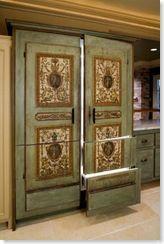 wow - faux fridge panels
