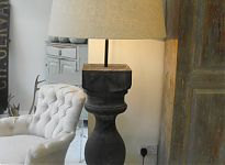 Bespoke Large Scale Balustrade Floor Lamp