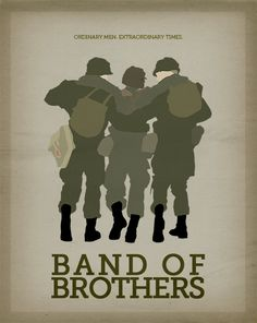 Band of Brothers poster remake