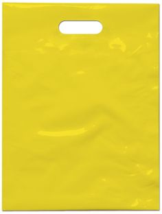 yellow plastic bag - shoppingbag - winkelmandje -
