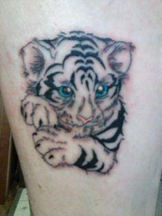 32b6b8b9f 20 Best Baby Tiger Tattoos images in 2017   Baby Tigers, Tattoo ...