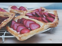 YouTube Waffles, Breakfast, Youtube, Food, Tasty Food Recipes, Sweets, Puff Pastries, Strawberry Fruit, Essen