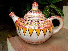 Artel by Bina Ali Diy Tea Bags, Pakistan Art, Tea Party Table, Cheap Kids Clothes, Tea Art, Ceramic Materials, Contemporary Ceramics, Handicraft, Tea Time