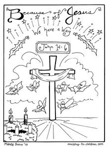 This is the final sheet in our printable advent coloring book for