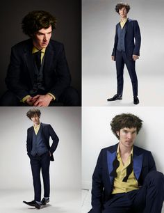 OMG HE IS SPOT ON! Benedict Cumberbatch photoshopped to cosplay as Spike Spiegel.