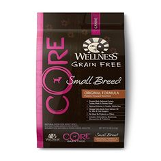 The boys all love this. The size is great and it keeps them healthy. I just wish there were other flavors available to switch things up now and then.  Wellness CORE Natural Grain Free Dry Dog Food, Small Breed Health Turkey & Chicken Recipe, 12-Pound Bag Wellness Natural Pet Food http://www.amazon.com/dp/B007M0J9VC/ref=cm_sw_r_pi_dp_3TYXvb1HK0V3J