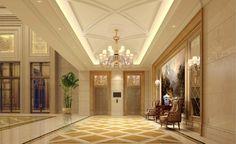 Aisle Lighting  Find more inspirations: lightingstores.eu/ #lightingstores #hallwaydesign #luxurylighting