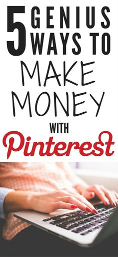 Want to make money from home? Check out these awesome ways to make money from Pinterest. Affiliate marketing is a great way to make passive income online. Start a blog | Side hustle ideas