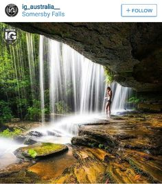 Somersby Falls, NSW New Facebook Page, Summer Bucket Lists, Photo Checks, Natural Beauty, Australia, Central Coast, January 2016, South Wales, Waterfalls