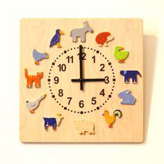 ヘラー社の壁掛時計「ヤーン動物」