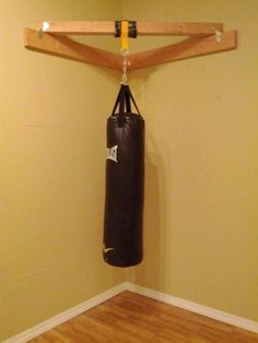 I like this idea for hanging our heavy punching bag ff6fcf6d1