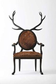 Reindeer Chair #Christmas #Decor #Holidays