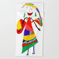 Make your reflection jealous with this artist-designed Bath Towel. The soft… Kidsroom, Painting For Kids, Beach Towel, Baby Room, Pop Art, Childhood, Bath, Make It Yourself, Reiki Meditation
