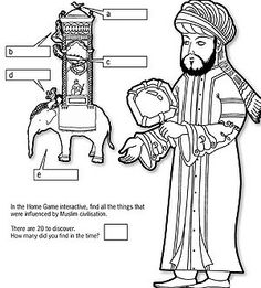 Worksheets on Muslim technology/inventions 1001-inventions